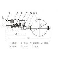中西(LQS)浮球阀 型号:H724X-4P/DN40/库号:M251778