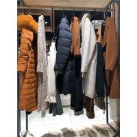 品牌女装走份厂家珍依佳18年冬装新款羽绒服大衣