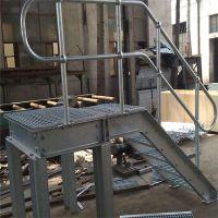 设备平台钢格栅板 道路排水沟盖板 洗车房专用钢格栅板