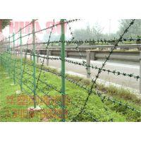 【现货供应】圈地围栏、刺绳护栏、简易护栏、刺绳网栏、刺绳围栏