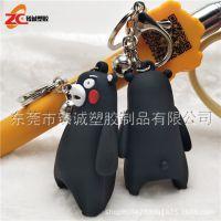 东莞PVC软胶日本卡通动漫公仔礼品钥匙扣吊饰 创意钥匙扣定制厂