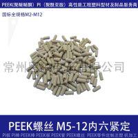 紧定螺丝M5*12,高温塑料紧定螺丝M5*12