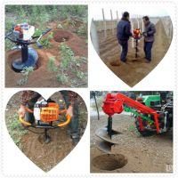 山西挖坑机 丘陵支架挖坑机 植树打眼机价格