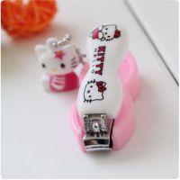 经典时尚 凯蒂猫可爱指甲钳 公仔指甲刀 粉色