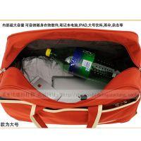 提拉两用式旅行拉杆包拉杆箱潮男女行李袋手提拖拉行李包出门短途