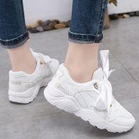 女生超火的爆款鞋子2018春季新款韩版透气学生系带休闲跑步运动鞋