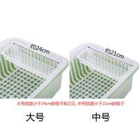 JSH餐具碗篮碗筷沥水架厨房盘架子滴水迷你家居便携式家用抽屉式