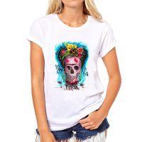 速卖通Ebay敦煌新款墨西哥弗里达·Frida 短袖女T恤