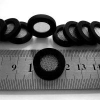 深圳厂家供应外径20平面硅胶过滤网垫片不锈钢滤网