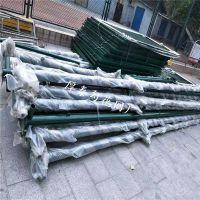 供应养殖勾花网围栏 热镀锌包塑丝球场围栏 安平厚泰厂家加工护栏