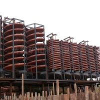 厂家直销5LL1500型螺旋溜槽 溜槽规格 铬铁溜槽分选工艺 浩鑫供应