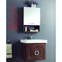 创客中美科勒CKMAKER,中式简约中欧风格陶瓷台面,橡木柜体镜体CKLV-35