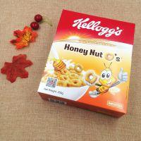 泰国进口冲饮麦片 非油炸营养早餐谷物 家乐氏蜜果脆圈圈 250g