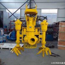 开封挖掘机液压铰刀清淤泵 液压抽沙泵 供应商 抽沙泵的价位