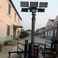 智能遥控气动升降照明灯塔 工程抢险 消防照明灯 柴油发电机灯塔