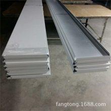 加油站白色条形铝扣板 供应室外高边防风条形铝扣板加油站天花