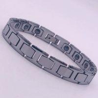 供应饰品 东莞钨钢手链 时尚OL大方 字母型 长度22CM原色IPF真空电镀金色手链 不褪色不过敏