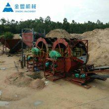 张掖供应风化砂洗砂机现货 200吨洗砂机厂家处理