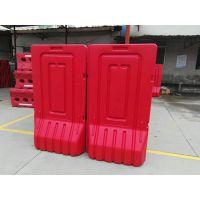 深圳供应水马施工工地专用吹塑高水马围栏光明新区塑料护栏厂家