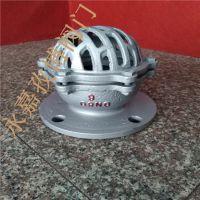 温州供应 国标法兰底阀 H42X-6 DN100 升降式单瓣铸铁水泵底阀 H42X-6C