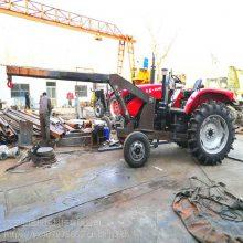 拖拉机行走吊 农用拖拉机底牌改装吊车 3吨 5吨拖拉机小型随车吊