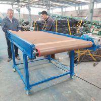 印刷品耐高温铁氟龙网带输送机定制 干果炒货Z型不锈钢提升输送机 中天