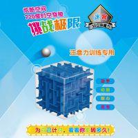 儿童益智早教玩具 透明3d走珠立体迷宫弹珠 成人智力减压魔方玩具