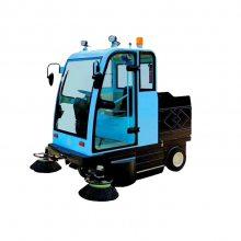 中拓厂家JC-2000驾驶式扫地车 电动全封闭智能清扫车 物业小区驾驶式扫地车