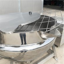 麦芽糖熬制夹层锅 蒸汽加热夹层锅