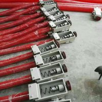 新型高粱电动软管吸粮机-高效螺旋软管吸粮机