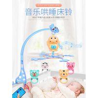 500首睡眠曲自动旋转挂件婴儿玩具床铃0-3-6-12个月