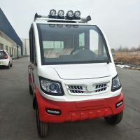 厂家直销双排微型皮卡电动小货车皮卡四轮电动车载客拉货两用电动皮卡
