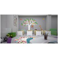 荥阳早教中心装修设计祝贺天恒装饰签约新爱婴早教中心施工项目