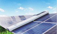 太阳能光伏清扫机器人设备-山东豪沃-西安光伏清扫机器人