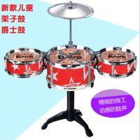 儿童架子鼓玩具 爵士鼓 早教益智音乐鼓 手敲鼓敲击打击乐器玩具
