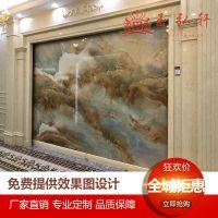 广东通体岗石人造大理石罗马柱电视背景墙 欧式石材罗马柱