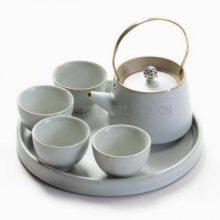 十境OTlife 陶瓷茶具新中式家居客厅酒店样板间软装装饰摆件