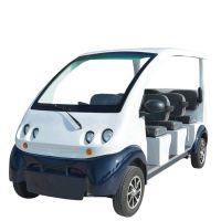 厂家直销电动观光车 全封闭电动四轮巡逻车 新能源保安电动巡逻车