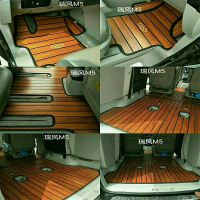厂家直销江淮瑞风M3/M4/M5/M6柚木脚垫实木柚地板汽车木质 大包围