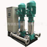 不锈钢变频恒压供水设备MVI5209一控二恒压变频泵22KW变频供水泵