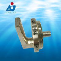 佛山五金压铸厂定制门业锌合金锁具 智能锁外壳 汽车散热器支架