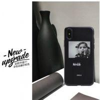 慕碧欧美冷淡风手机壳苹果x情侣美术生的潮牌手机套