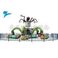 供应大型游乐设备旋转大章鱼现货,户外紧张刺激游乐设施厂家报价