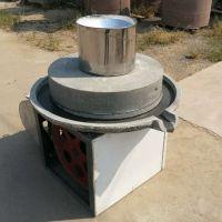 五谷杂粮商用磨粉机 多功能豆浆石磨 现货供应低温艾绒石磨机
