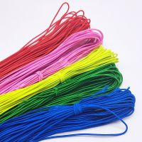 DIY彩色串珠弹力绳 1mm手工松紧弹力线 橡皮筋绳包芯佛珠弹力线