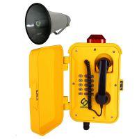 网络型声光电话机,以太网接口抗噪扩音电话,SIP协议,支持POE供,
