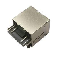 KY 带铜壳RJ45焊线式母座 带灯RJ45 8P8C焊线式连接器 现货供应