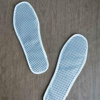 自发热鞋垫 托玛琳鞋垫 远红外鞋垫 白色