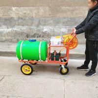 宇悦牌果树植保机械打药机/手推式打药机型号多选/价格低汽油柴油电机动力