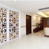 广东雕刻定制米色中式风浪漫隔断装饰通花板雕刻板